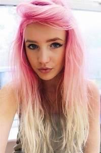 Couleur Cheveux Pastel : pink roots girl 39 s style cheveux cheveux longs color s et id e couleur cheveux ~ Melissatoandfro.com Idées de Décoration