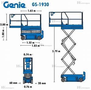 Genie GS-1930 - Genie - Machinery Specifications