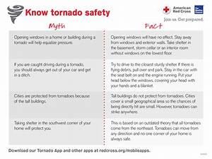 Tornado Safety  Myths Vs  Facts