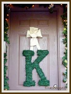 120 best library decor images on pinterest library ideas With alphabet letter wreaths