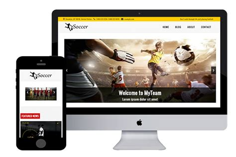 free website templates html5 zsoccer free responsive html5 template zerotheme