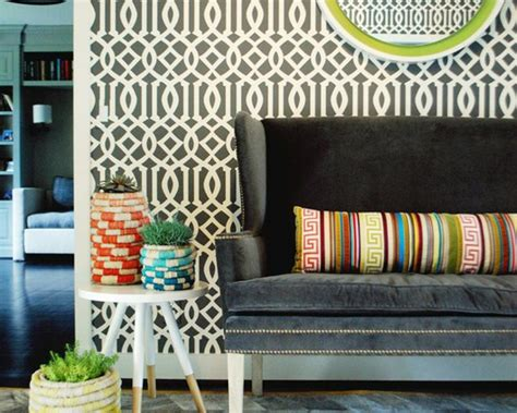 15 Living Rooms With Geometric Wallpaper Refinishing Kitchen Cabinets With Stain Glass Fronted Outdoor Diy Online Reviews Cabinet Painting Ideas Knock Down Ikea For Bathroom Lights Under Wireless