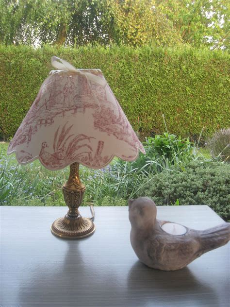proportion abat jour pied de le le pied bronze abat jour toile de jouy 42 photo de meubles relook 233 s 224 vendre