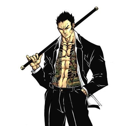 torque  anime yakuza