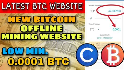 All you have to do is, create your transaction online, sign it offline to protect your keys, and broadcast it online again. NEW BITCOIN OFFLINE MINING WEBSITE | LOW MINIMUM WITHDRAWAL | LEGIT - YouTube