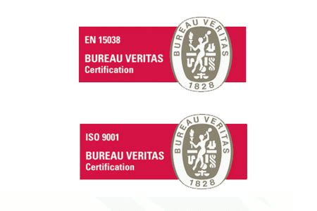 bureau veritas global shared services stepping awarded certification for both en 15038 and iso 9001 stepping