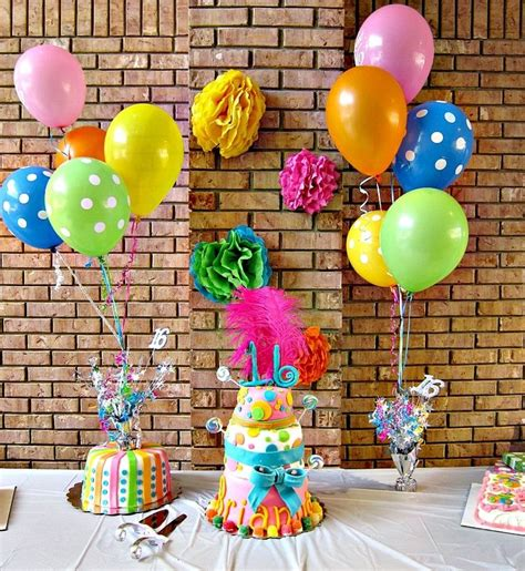 project decoration birthday decorations ideas for easy and inexpensive party decor lots of