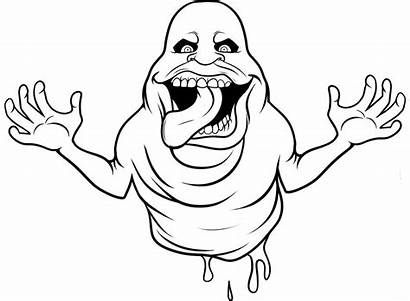 Scary Coloring Pages Ghostbuster