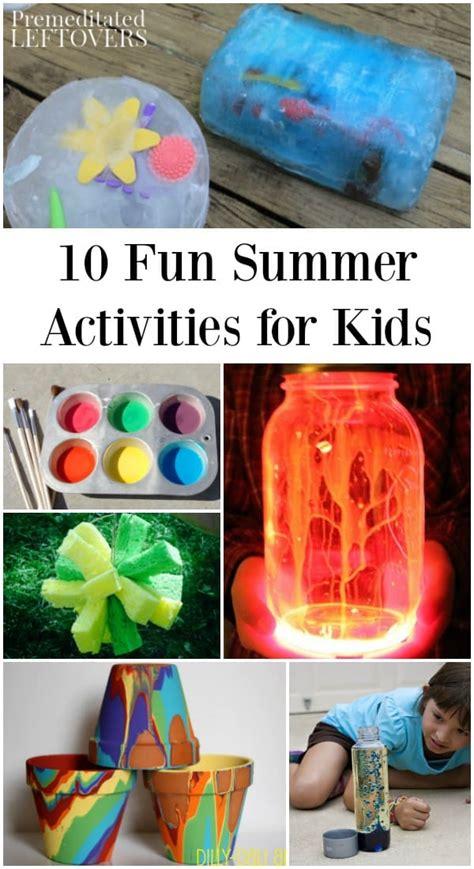 fun summer activities    home   kids busy
