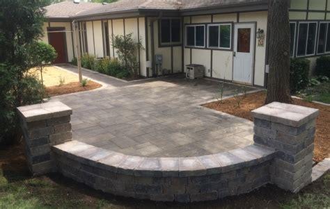 Paver Brick Patios And Walkways