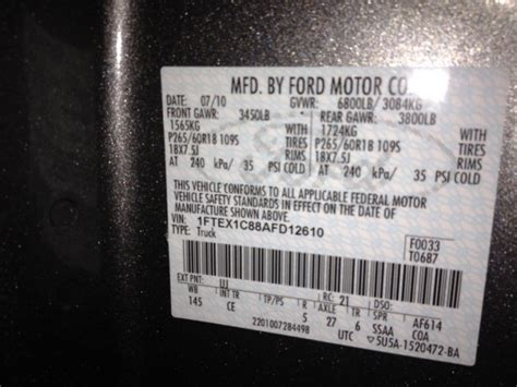 axle code    ford  forum community  ford