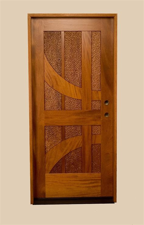 Door Designs by Custom Made Mahogany Entrance Door With Carved Panels
