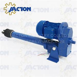10000kg Parallel Mount Motorized Electric Linear Actuator Heavy Duty Acme Screw Drives High Load