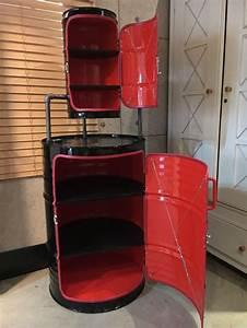 Coole Outdoor Möbel : diy oil drum remodeling how to make a oil drum cabinet coole m bel u anderes pinterest ~ Sanjose-hotels-ca.com Haus und Dekorationen