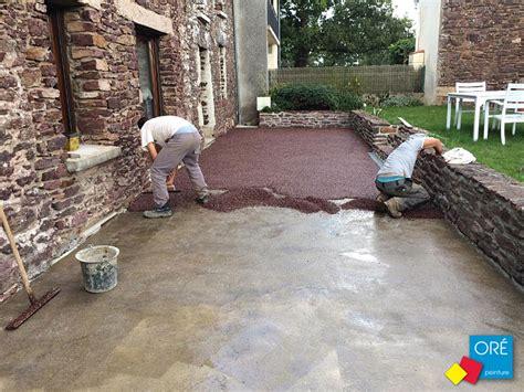 peinture pour dalles exterieur nivrem peinture sol terrasse bois exterieur diverses id 233 es de conception de patio en
