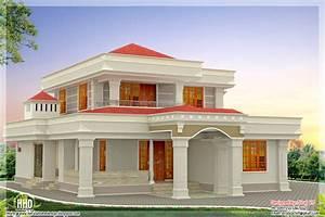 Beautiful Indian home design in 2250 sq feet - Kerala home