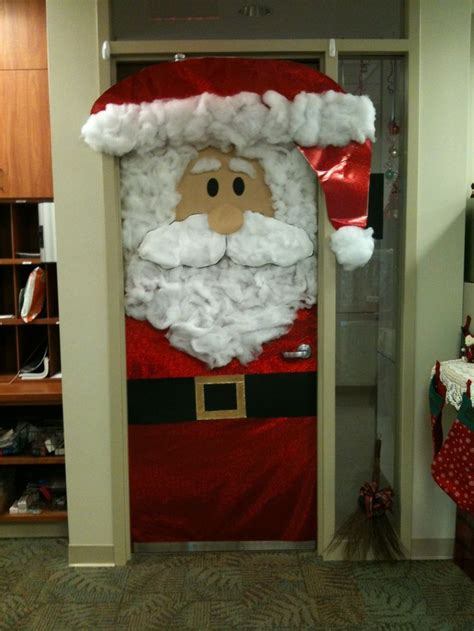 christmas door decorations  pinterest