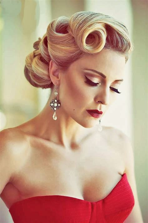 50s Prom Hairstyles by The 25 Best 1950s Updo Ideas On 50s