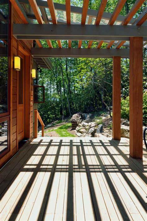 pergolas de aluminio  madera  ideas modernas