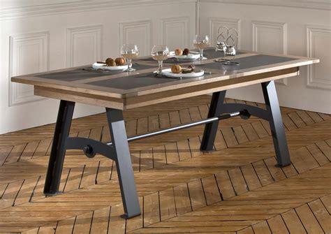 bureau d angle bois acheter votre table pieds métal plateau chêne et céramique