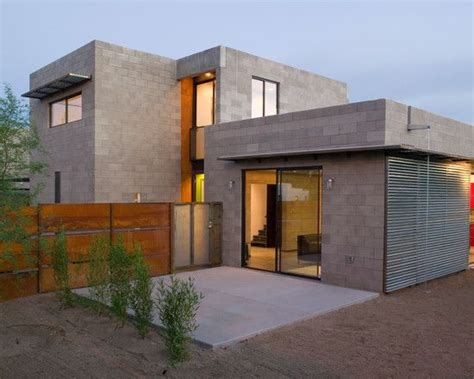 Modern Meditranian Cinder Block Home Designs  Joy Studio