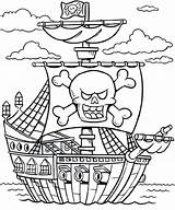 Ship Coloring Sunken Pages Pirate Printable Ships Getcolorings Sturdy sketch template