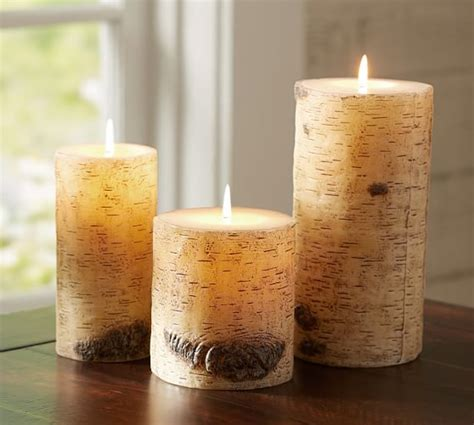 pottery barn candles pottery barn knockoff diy birch candlesliving rich on less