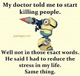 #Funny #Minion #Quote About Doctor vs. People – Minion ...