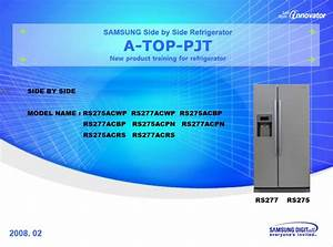 Samsung Rs275acwp Rs275acrs Rs275acpn Rs275acbp