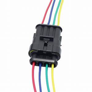 4 Pin Way Car Auto Waterproof Electrical Connector Plug