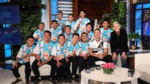 Rescued Thai Cave Boys Appear On Ellen To Give Their First
