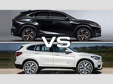 2018 Lexus NX vs 2017 BMW X1 YouTube