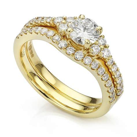 christie shoulder engagement ring