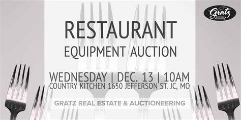 country kitchen jefferson city mo restaurant equipment auction country kitchen jefferson 8447