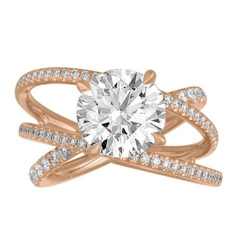 criss cross engagement ring gottlieb