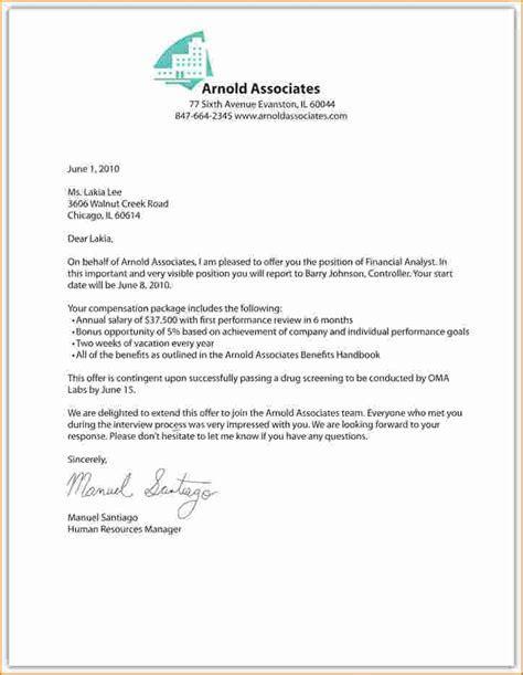 Offer Letter Template 9 Offer Letter Assistant Cover Letter Offer Letter