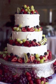 images  cakes fruitsmulti tier  pinterest