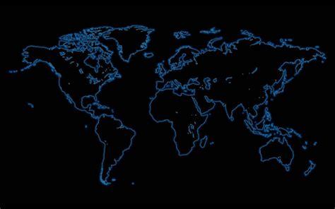 Digital World Map Wallpaper Hd by Digital Map World Map Black Wallpaper