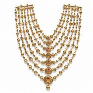 Handmade bridal gold jewellery designs, Indian polki ...