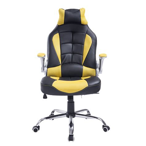 home goods desk chairs homcom racing style executive gaming office chair office