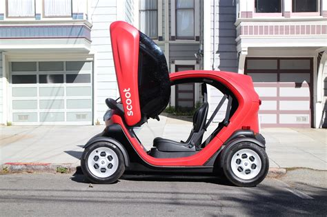 electric scoot quad nee renault twizy car sharing