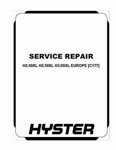 Hyster 50 Wiring Diagram