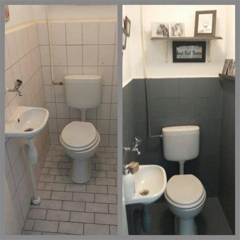 badkamer en toilet ideeen toilet opknappen met krijtverg chalk paint idee 235 n voor