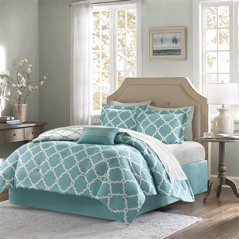 blue king size comforter set teal blue fretwork comforter set king size