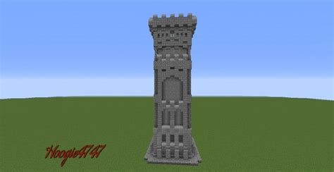 wall tower design minecraft project tower design minecraft plans minecraft