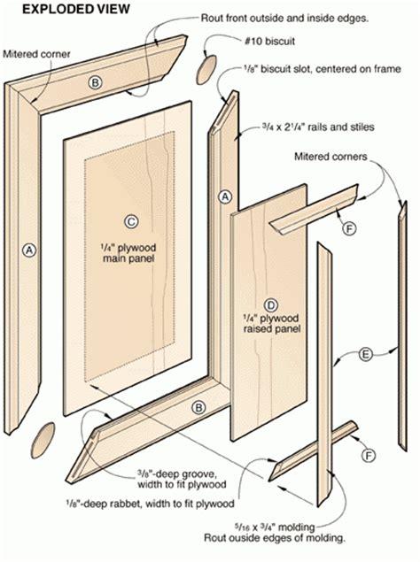 how to make raised panel cabinet doors raised panel doors