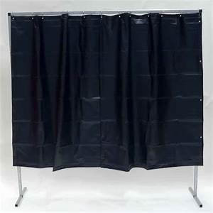 Vorhang 200 Cm Lang : schwei schutzwand vorhang dunkelgr n 200 x 200 cm x 0 4 mm ~ Orissabook.com Haus und Dekorationen