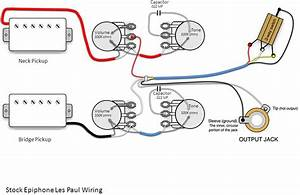 Humbucker Wiring Diagram Epiphone Lp 100