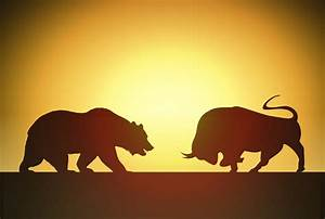 Gold Chart Trend Free Photo Bull Versus Bear Abstract Market Optimism