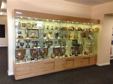 Idea Showcases Made A Bespoke School Trophy Cabinet For